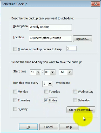 backup Quickbooks File