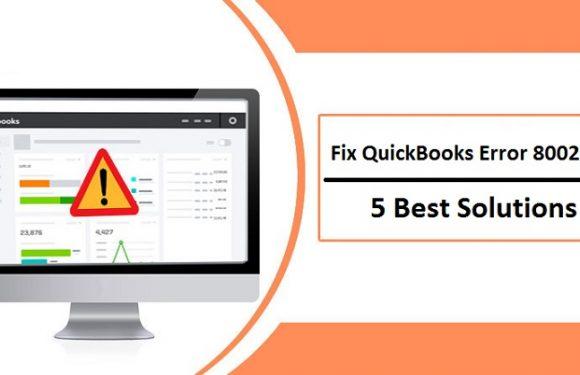 Error Code 80029c4a In Quickbooks: 5 Methods To Resolve The DLL Problem