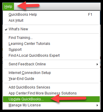 Update Quickbooks: Error 80070057 Quickbooks