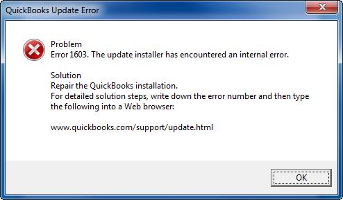 Error 1603 When Updating Quickbooks [Latest Fixation Methods]