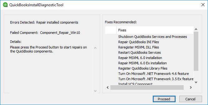 download install diagnostic tool: error 1603 Quickbooks